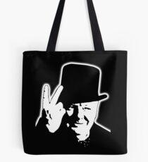 V sign, Victory, V, 1943, WWII, Winston, Churchill, British prime minister,  Tote Bag