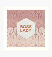 Boss Lady Art Print