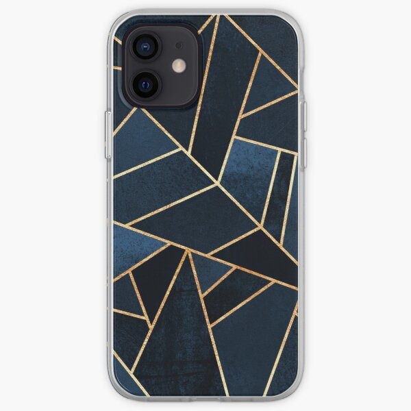 Navy Stone iPhone Soft Case