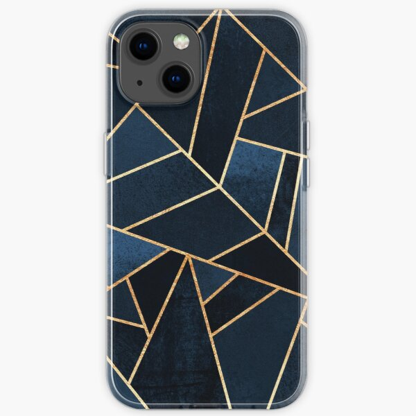 Navy Stone iPhone Soft Case