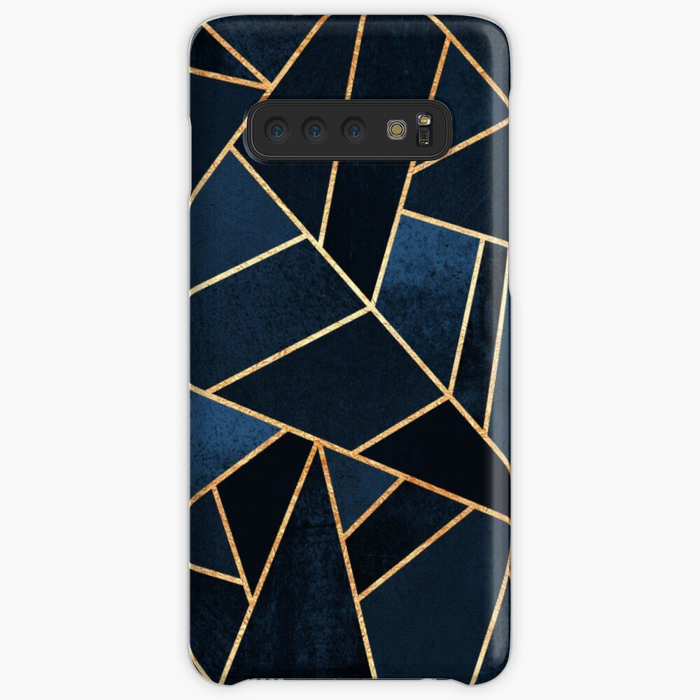 Navy Stone Cases & Skins for Samsung Galaxy