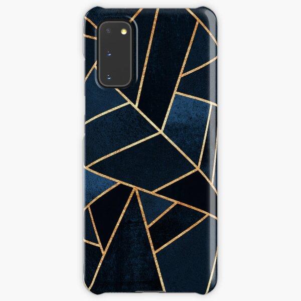 Navy Stone Samsung Galaxy Snap Case