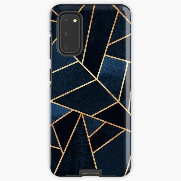 Navy Stone Samsung Galaxy Tough Case