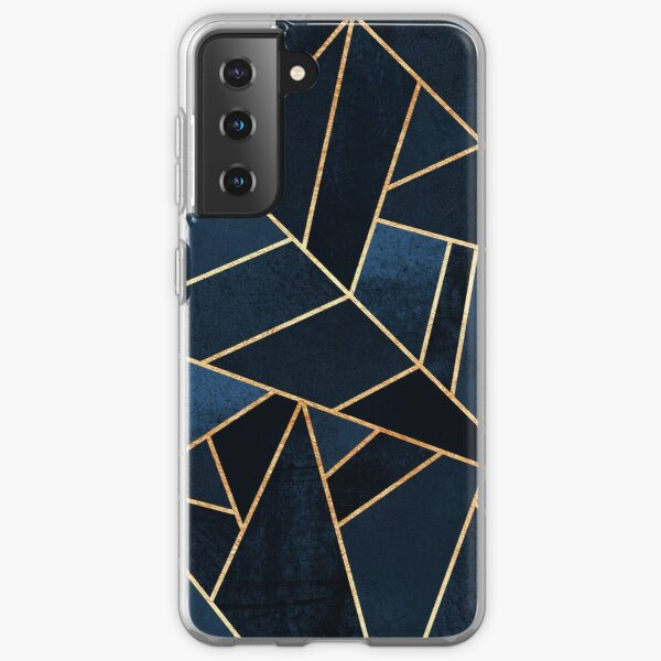 Navy Stone Samsung Galaxy Soft Case