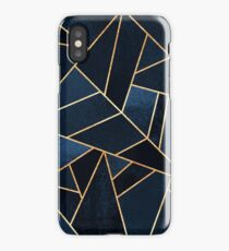 Navy Stone iPhone Case/Skin