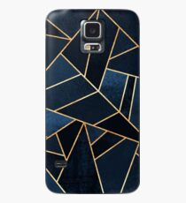 Navy Stone Case/Skin for Samsung Galaxy