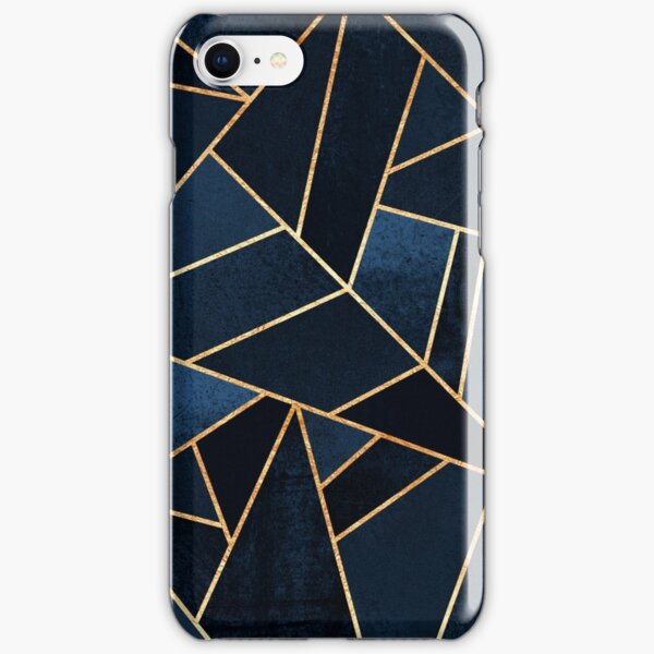 Navy Stone iPhone Snap Case