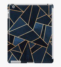 Navy Stone iPad Case/Skin
