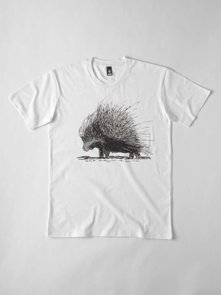 Alternate view of Porcupine Premium T-Shirt