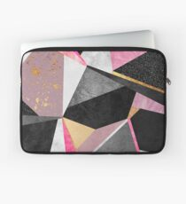 Geometrie / Rosa Laptoptasche