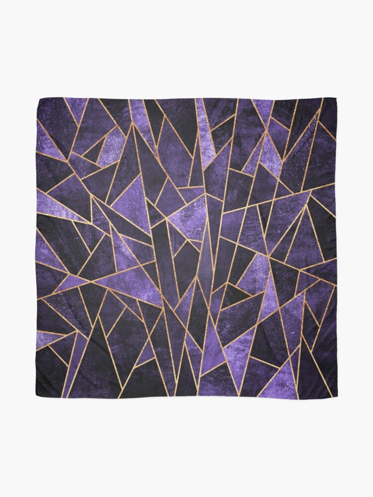 Alternate view of Shattered Amethyst Scarf