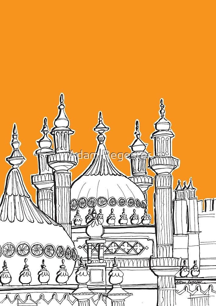 Royal Pavilion Brighton by Adam Regester
