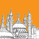 Royal Pavilion Brighton by Adam Regester