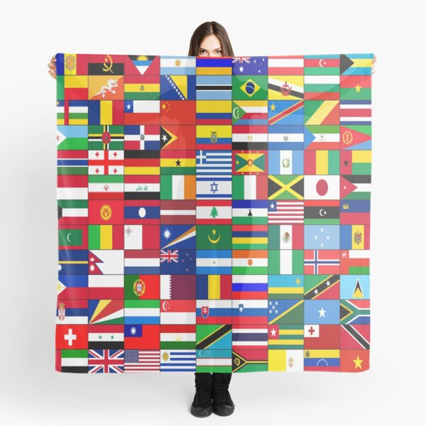 WORLD FLAGS Scarf