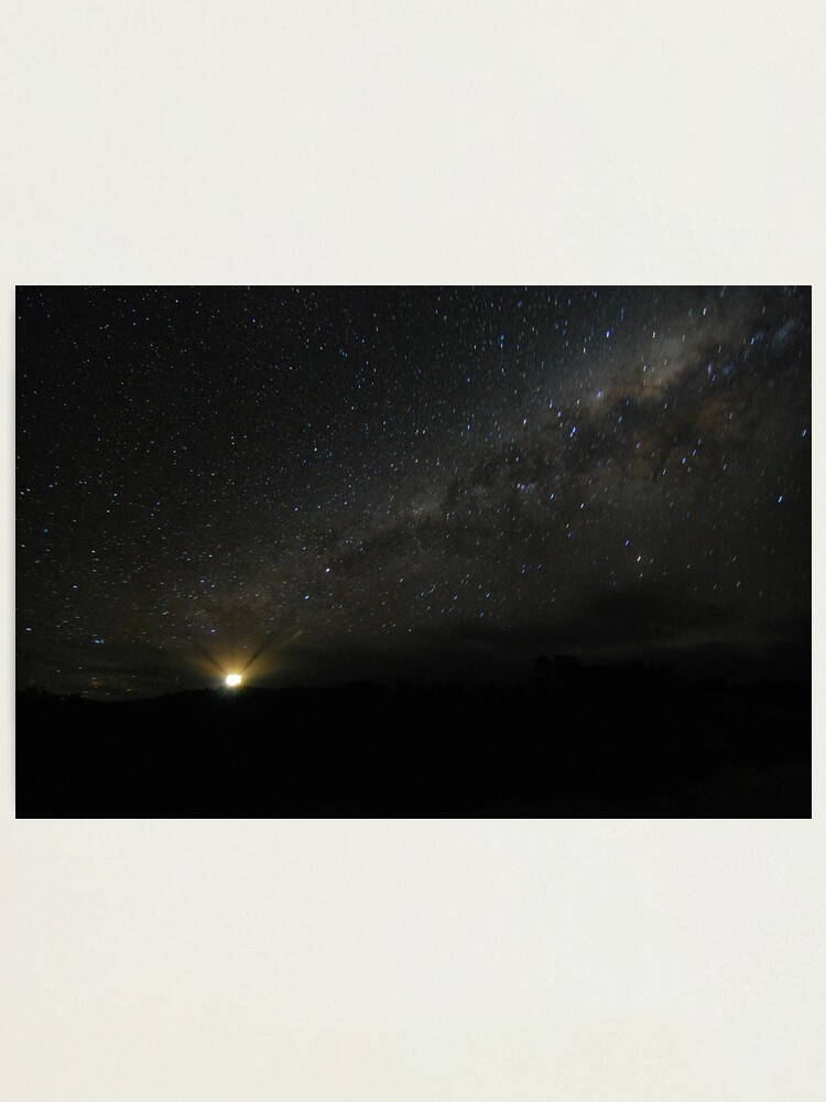 Alternate view of Lighting up the Milky Way Photographic Print