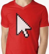"Computer Games - ""Lost Boys Life"" Logo Men's V-Neck T-Shirt"