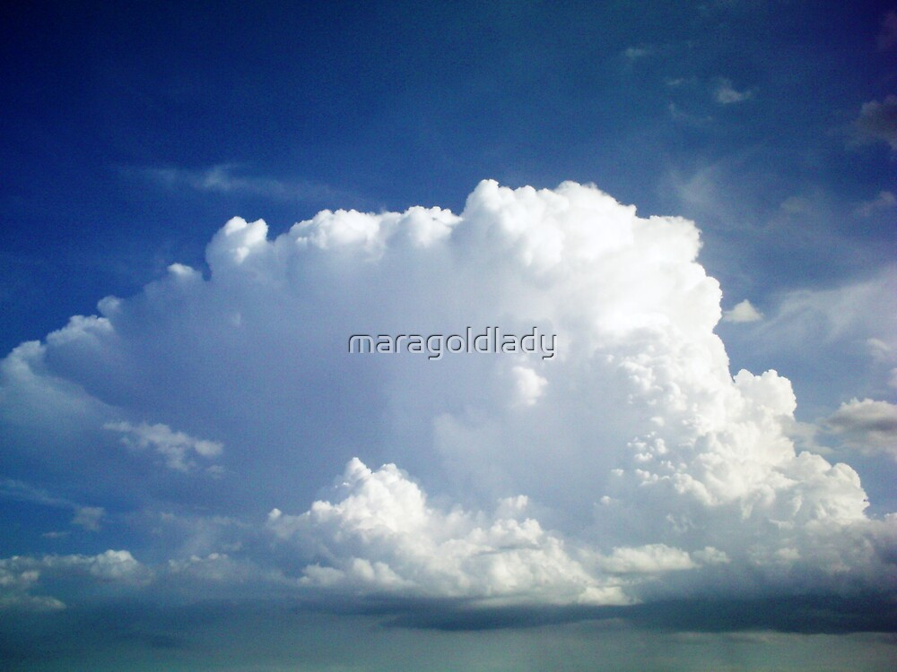 Cloud Mountain by maragoldlady