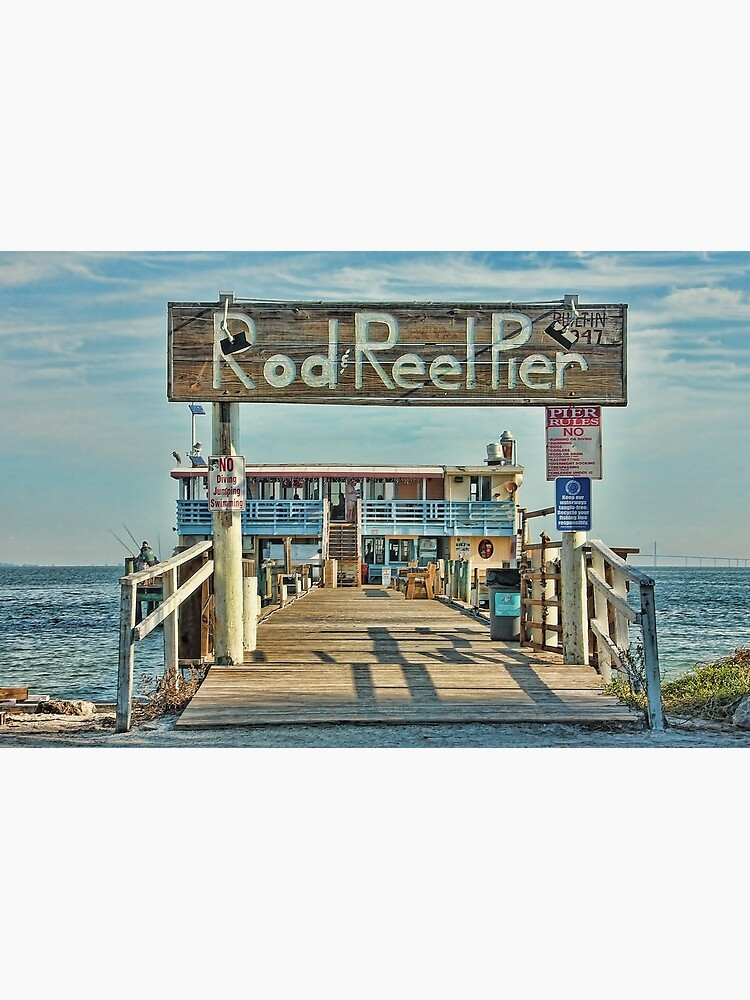 A Pier Called The Rod And Reel by HHPhotographyFL