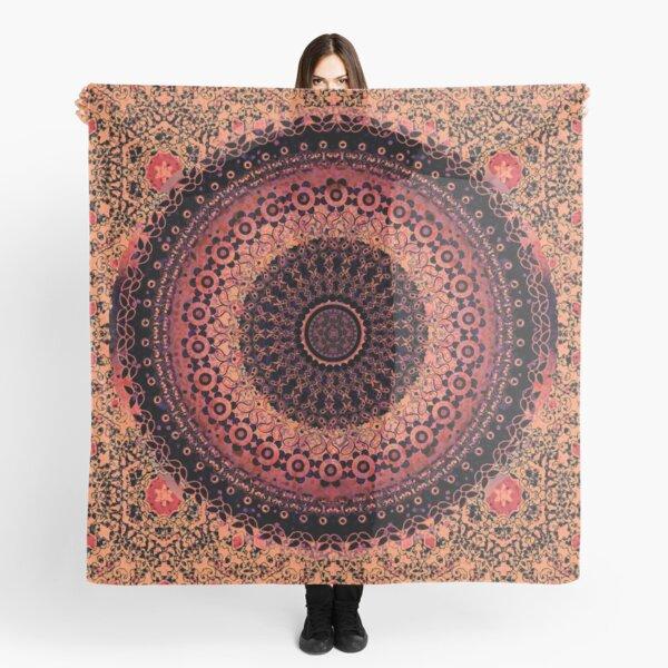 Spice Tapestry Mandala Scarf