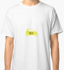 Smart Car ForTwo Yellow Colour - From 0-60...Eventually Classic T-Shirt