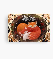 Stay Cozy Canvas Print