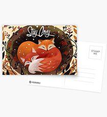 Stay Cozy Postcards