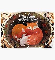 Stay Cozy Poster