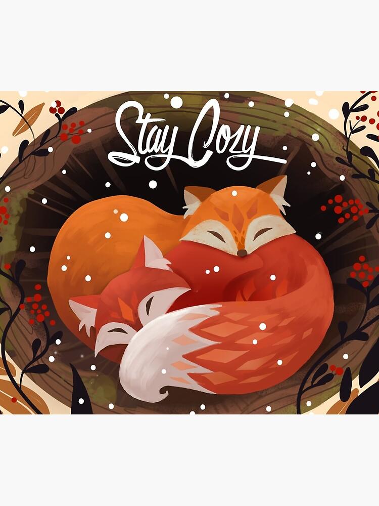 Stay Cozy by JuliaBlattman