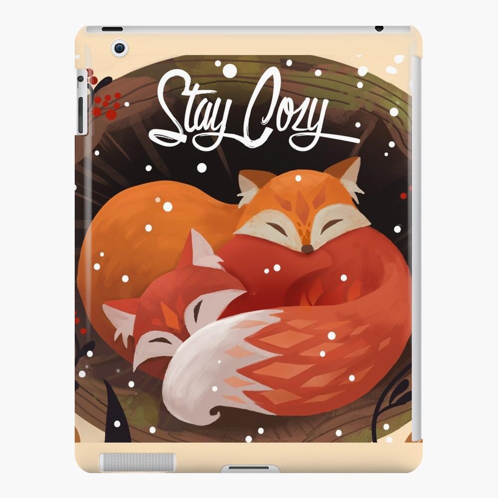 Stay Cozy iPad Case & Skin
