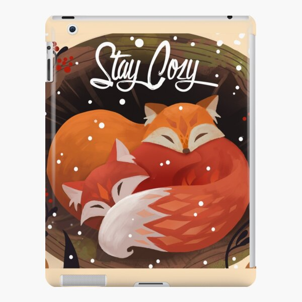 Stay Cozy iPad Snap Case