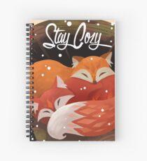 Cuaderno de espiral Quédate cómodo