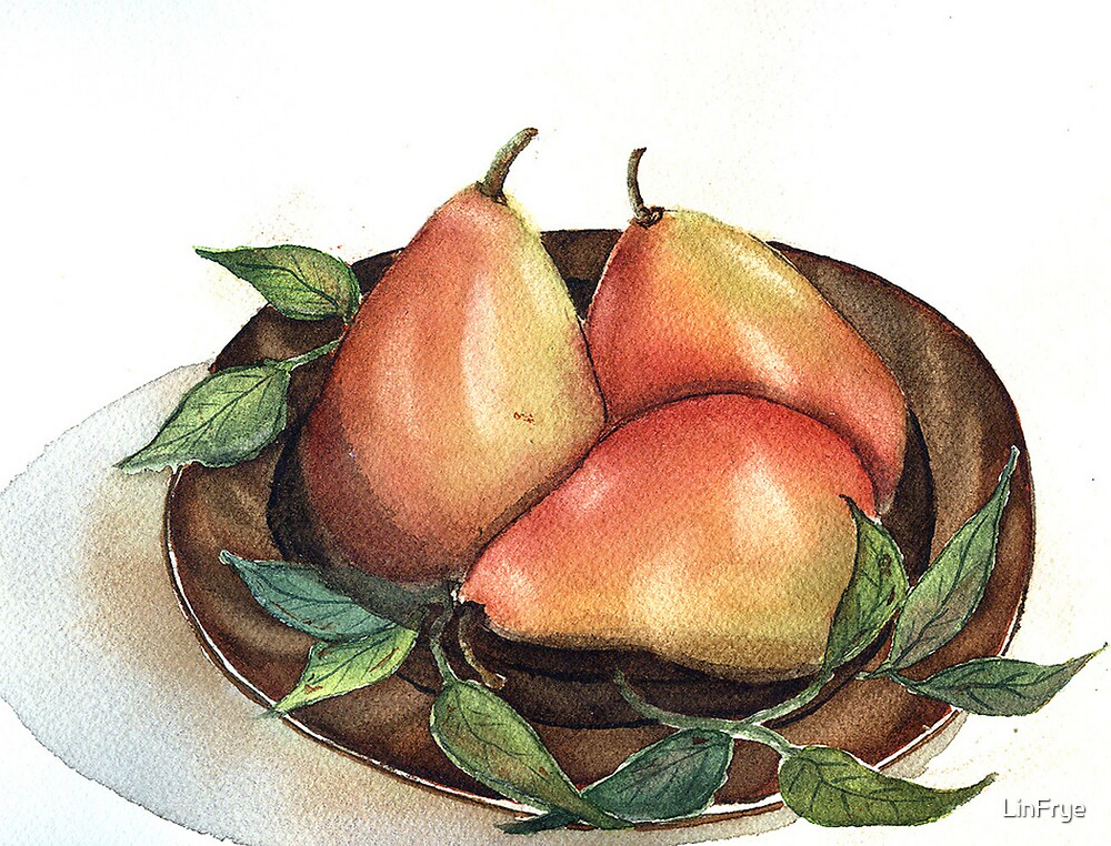 Pears Still Life by LinFrye