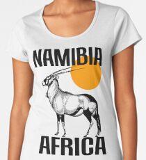 NAMIBIA (GEMSBOK) Women's Premium T-Shirt