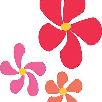 3 Flowers by culturageekstor