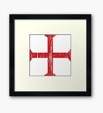 Knights Templar Crusader Cross Framed Print