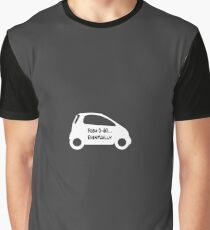 Smart Car ForTwo White Colour - From 0-60...Eventually Graphic T-Shirt