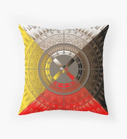 The Four Directions Throw Pillow