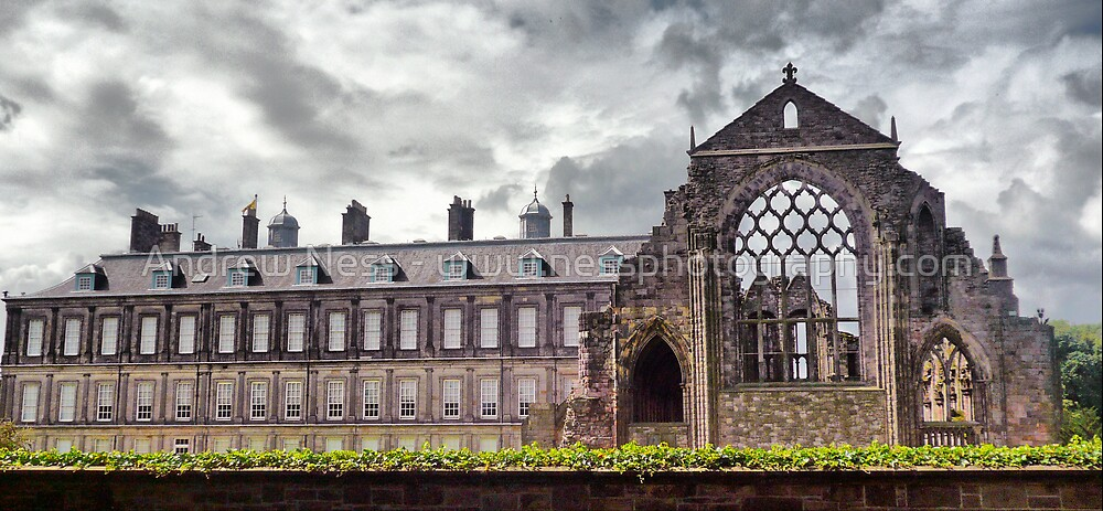 Holyrood Palace / Augustinian Abbey  by Andrew Ness - www.nessphotography.com