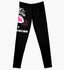 Breast Cancer Shirt Lets Tackle Breast Cancer Football Leggings
