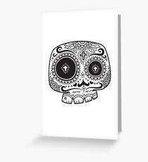 Sugar Skull Awakening Greeting Card