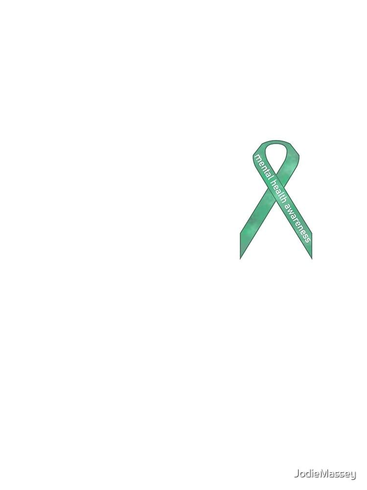 Mental Health Awareness Ribbon Womens Chiffon Top By Jodiemassey