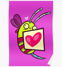 Bee Loved Poster