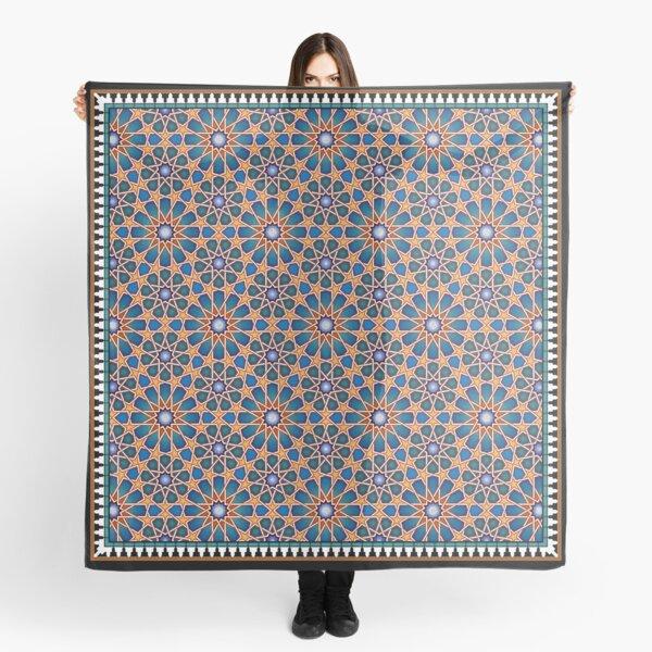 Moorish / Islamic Pattern from the Alhambra Scarf