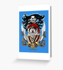 The Dread Pirate Dookerts Greeting Card