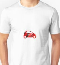 Smart Car ForTwo Multicolour 6 - From 0-60...Eventually T-Shirt