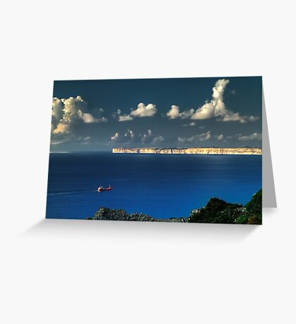 Lonely Sea Greeting Card
