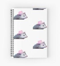 Possum Cowgirl Spiral Notebook