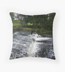 Weir on The Wyre Throw Pillow