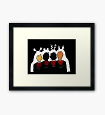 The Marauders Ears Framed Print