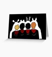 The Marauders Ears Greeting Card